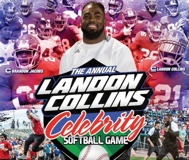 Christopher Conover Partners with Joe Ruback to Help Host Annual Landon Collins Celebrity Softball Game 2019